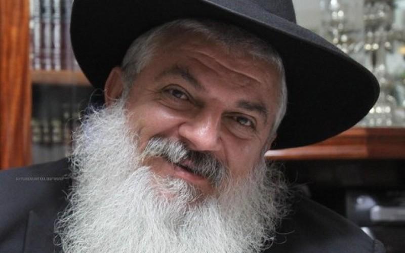 הרב יצחק מוזגרשוילי בדברי תורה לפרשת 'תצוה'