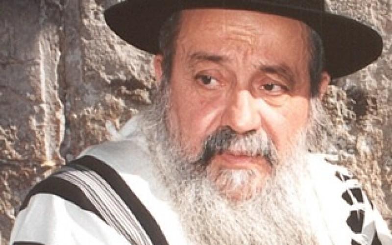 """הרב חכם רפאל אלאשוילי זצ""""ל בדברי תורה בימי עיון באור יהודה"""