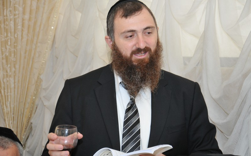 הרב מאיר מושיאשוילי בדברי תורה לפרשת 'בראשית'