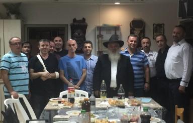 """שיעור תורה עם הרב יצחק מוזגרשוילי לע""""נ יצחק בן יוסף ותמר מירון"""