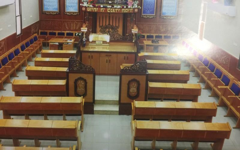 """בית הכנסת ע""""ש הרב משה חחיאשוילי בבאר שבע"""