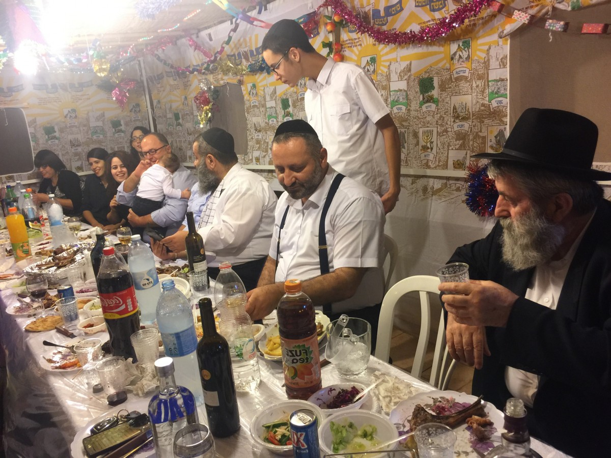 'ושמחת בחגך' סוכות עם הרב יעקב גגולאשוילי